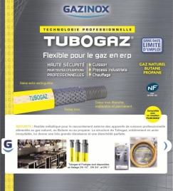 TUBOGAZ : Flexible gaz pour ERP